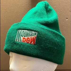 Mountain Dew Beanie Hat